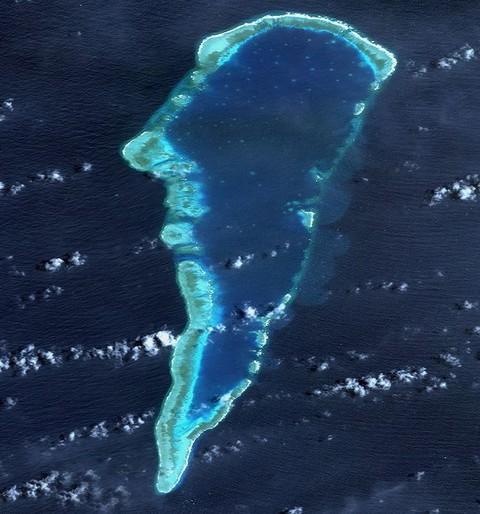 中国实际控制岛礁再添四个