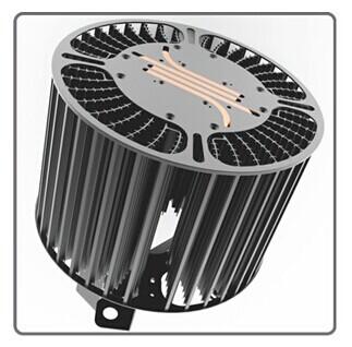 液态金属散热_依米康推出新一代液态金属工矿灯散热器