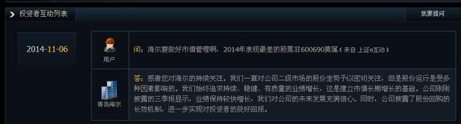 $青岛海尔(sh600690)$