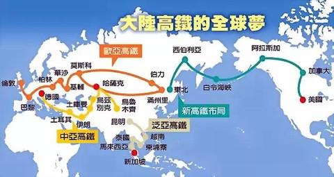 中国谋划铺设一条纵贯东南亚
