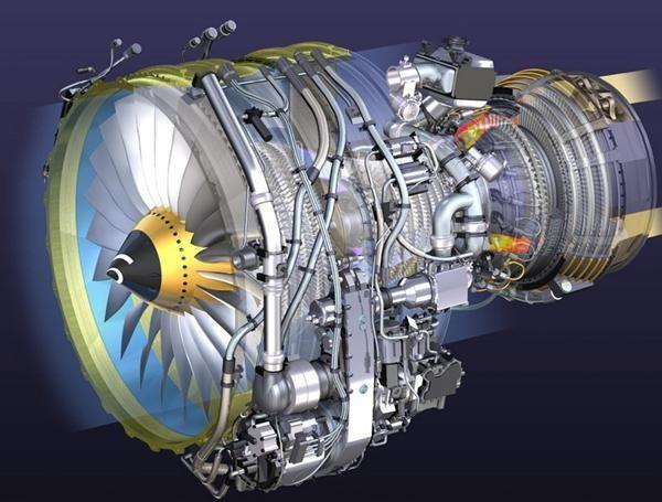 圆筒状物体, 要塞进4级风扇,9级压气机,2级涡轮,可收敛-扩张喷管,燃烧