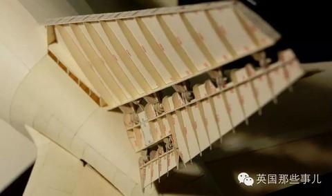 跟飞机上的液压杆一样的结构.能动