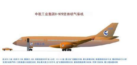 中国研制大型客机c929采用国产发动机