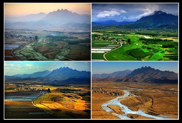 现代四季风景图片大全