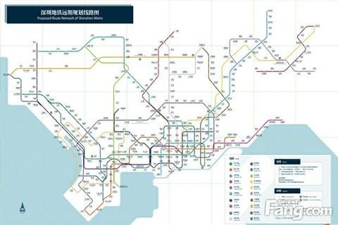 畅想美丽广州手绘地图
