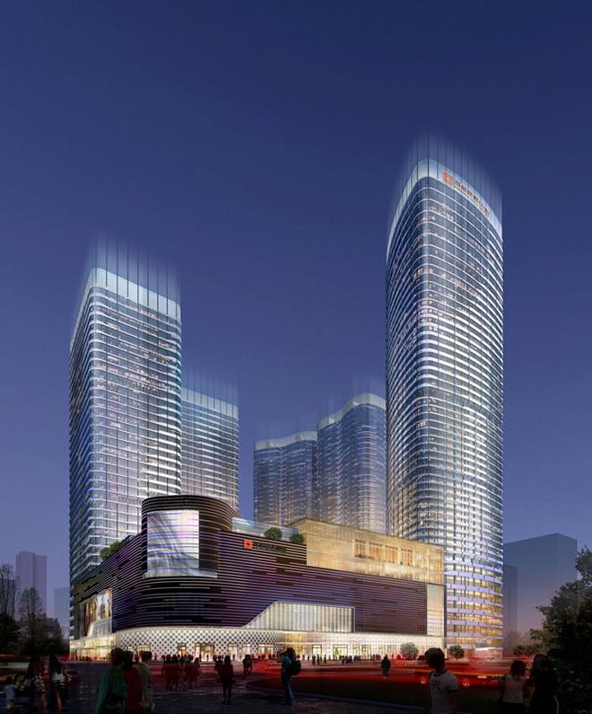 杭潇钢结构高层住宅图片