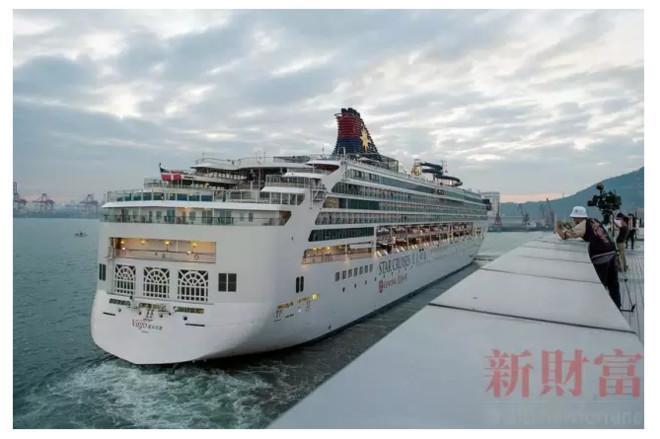 """据招商蛇口介绍,""""深圳蛇口太子湾邮轮中心,将打造成为集关检,免税商业"""