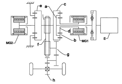 丰田3400发电机3线电路图