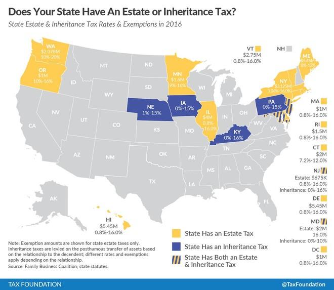 美国各州税率和生活成本比较 -  - 屋漏在下止之在上上漏不止下不可居