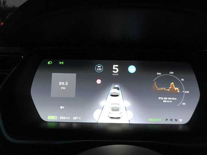 特斯拉无人驾驶初体验