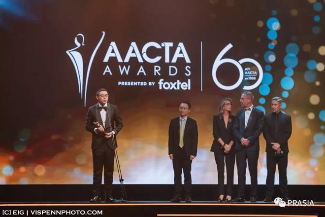"""优瑞卡国际集团助力南半球""""奥斯卡""""之AACTA爱塔金像奖,中国电影首获最佳亚洲电影奖!"""