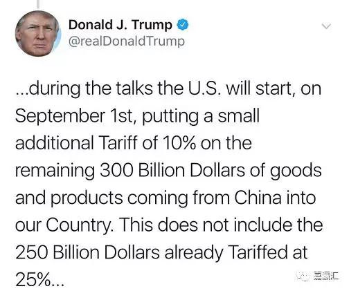 中美经贸磋商刚结束,特朗普一个推特引发市场动荡!