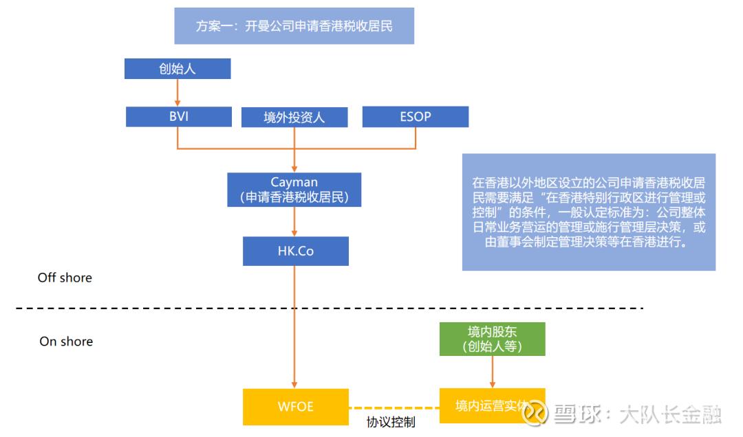 拟上市公司组织架构_监管变化趋势下的VIE架构解析 2019年是境内外投融资法律环境和 ...